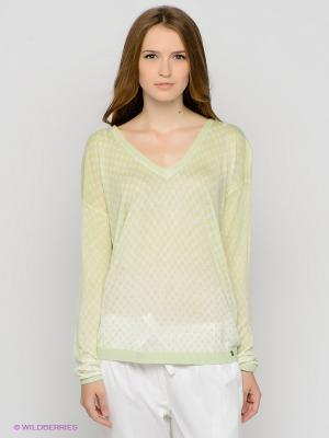 Пуловер Dept. Цвет: салатовый
