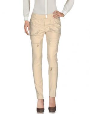 Повседневные брюки GAI MATTIOLO JEANS. Цвет: песочный