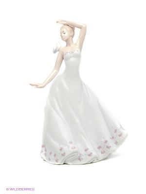 Статуэтка Леди Pavone. Цвет: белый, светло-бежевый