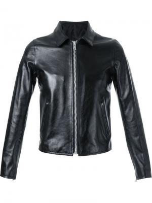 Кожаная куртка Riders Hl Heddie Lovu. Цвет: чёрный