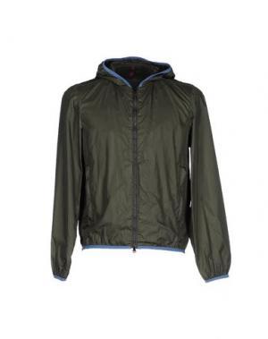 Куртка COCHRANE. Цвет: темно-зеленый