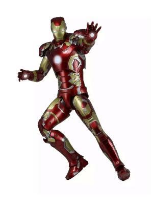 Фигурка Avengers: Age of Ultron - 1/4 Scale Figure Iron-Man Mark 43 Neca. Цвет: синий, золотистый, темно-красный