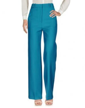 Повседневные брюки CÉLINE. Цвет: зеленый