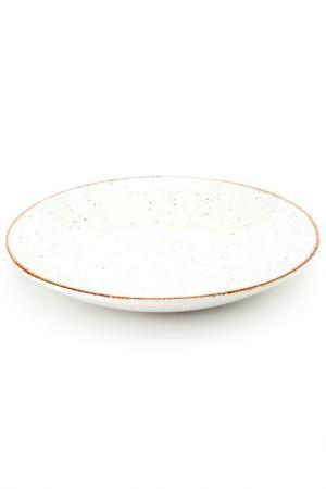 Тарелка глубокая, 25 см CONTINENTAL. Цвет: белый