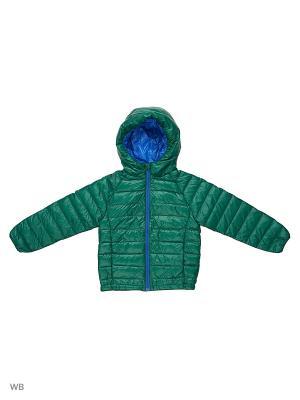 Куртка детская Burlesco. Цвет: темно-зеленый