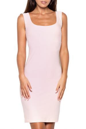 Платье KATRUS. Цвет: розовый