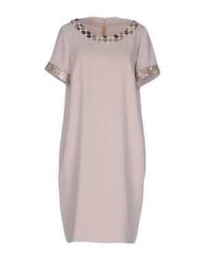 Короткое платье CALALUNA. Цвет: серый