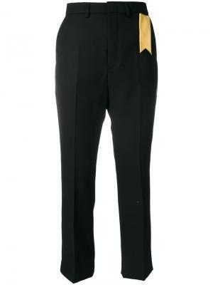 Укороченные брюки Sonia The Gigi. Цвет: чёрный
