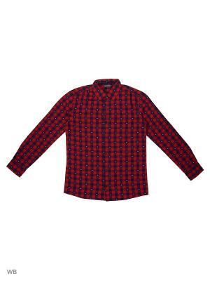 Рубашка Tommy Hilfiger. Цвет: красный