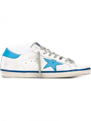 Кеды Super Star Golden Goose Deluxe Brand. Цвет: белый