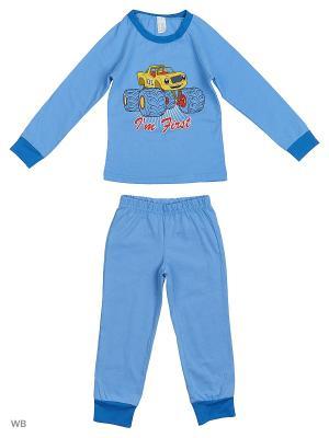 Пижама Pastilla. Цвет: синий, фиолетовый