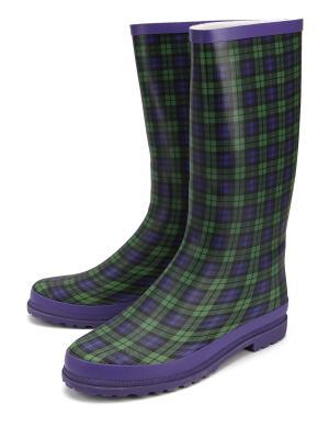 Резиновые сапоги TF. Цвет: зеленый