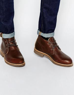 Red Wing Кожаные ботинки чукка Foreman. Цвет: коричневый