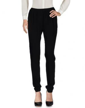 Повседневные брюки HARTFORD. Цвет: черный