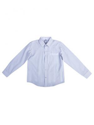 Рубашка текстильная S`Cool. Цвет: серый, белый