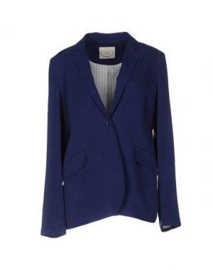 Пиджак EMMA&GAIA. Цвет: синий
