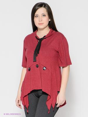 Жакет МадаМ Т. Цвет: бордовый