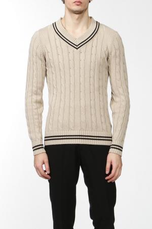 Джемпер Marks & Spencer. Цвет: светлый серо-коричневый микс