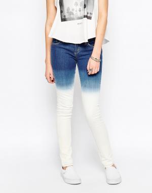 RVCA Зауженные выбеленные джинсы