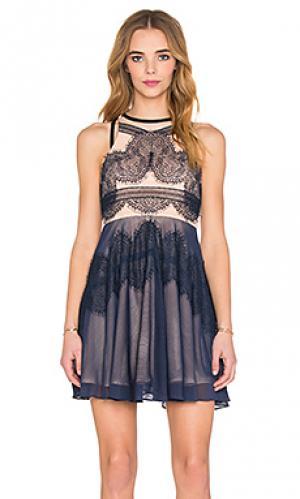 Платье whimsical Three Floor. Цвет: синий