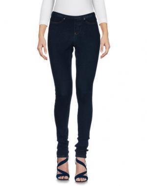 Джинсовые брюки SISI. Цвет: синий
