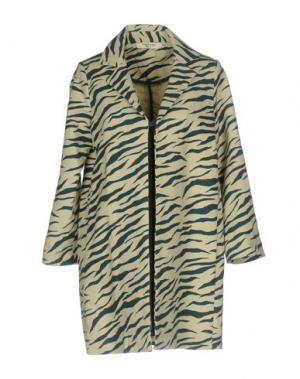 Пальто NICE THINGS by PALOMA S.. Цвет: цвет морской волны
