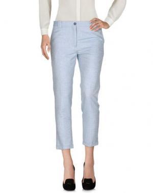 Повседневные брюки MAURO GRIFONI. Цвет: небесно-голубой