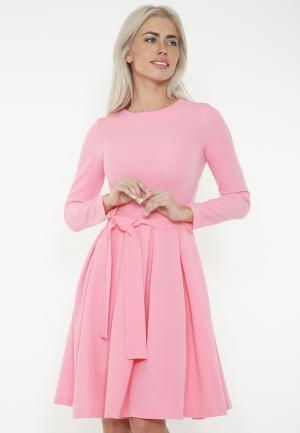 Платье Lussotico. Цвет: розовый
