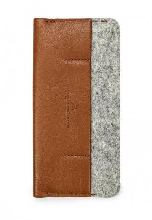 Чехол для телефона Handwers. Цвет: коричневый