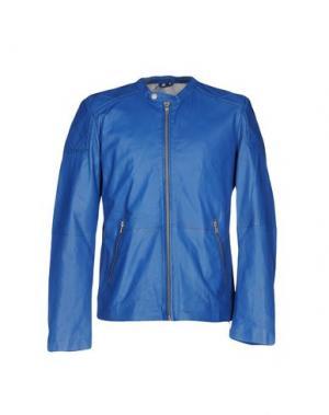 Куртка FREAKY NATION. Цвет: синий