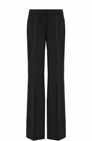 Расклешенные брюки со стрелками Victoria by Beckham. Цвет: черный