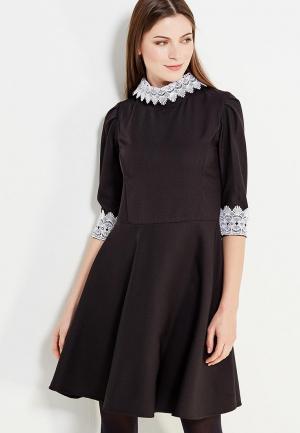 Платье Miss & Missis. Цвет: черный