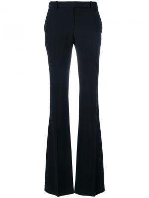 Расклешенные классические брюки Alexander McQueen. Цвет: чёрный