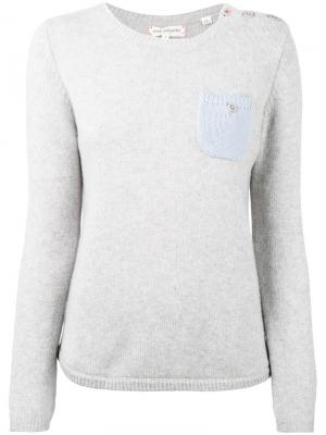 Cashmere one pocket sweater Chinti And Parker. Цвет: серый