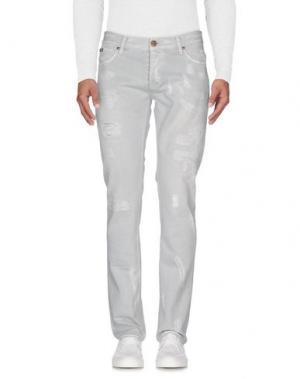 Джинсовые брюки IT'S MET. Цвет: серый