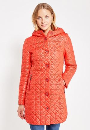 Куртка утепленная Brillare. Цвет: красный