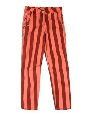 Повседневные брюки SCOTCH R'BELLE. Цвет: лососево-розовый