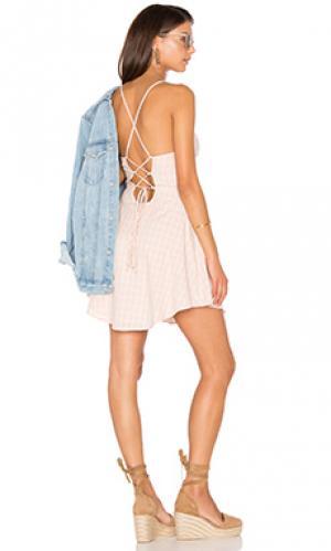 Платье Lucca Couture. Цвет: румянец