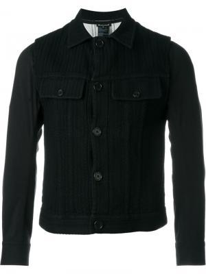 Куртка с нагрудными карманами Ann Demeulemeester. Цвет: чёрный
