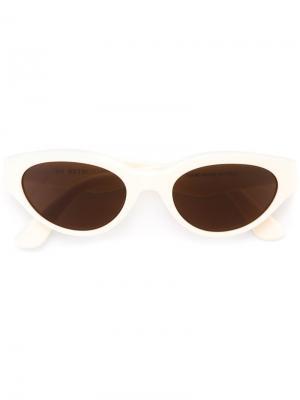 Солнцезащитные очки Drew Brigitte Retrosuperfuture. Цвет: телесный