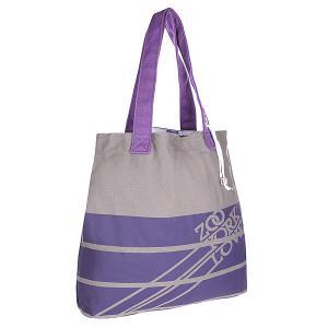 Сумка женская  Totetastic Purple Heart Zoo York. Цвет: серый,фиолетовый