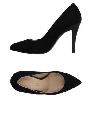 Туфли VICINI TAPEET. Цвет: черный