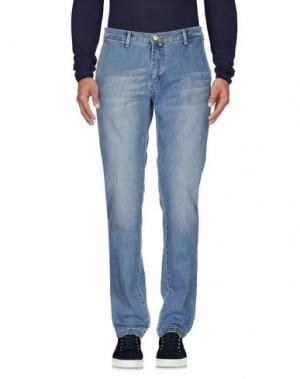 Джинсовые брюки QUOTA OTTO. Цвет: синий