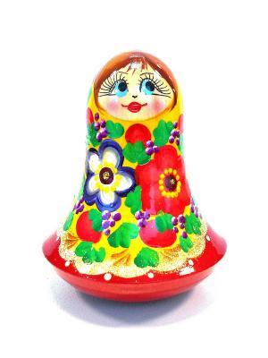 Неваляшка музыкальная  - Девочка желтая Taowa. Цвет: желтый