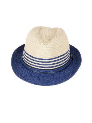 Шляпа Dispacci. Цвет: синий