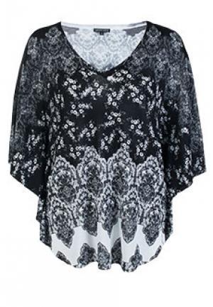 Блуза LEO GUY. Цвет: черный