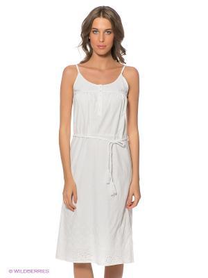Платье LERROS. Цвет: белый