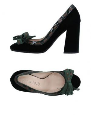 Туфли LELLA BALDI. Цвет: темно-зеленый