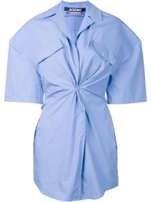 Платье Luniforme Jacquemus. Цвет: синий