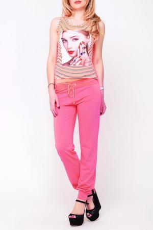 Брюки Majaly. Цвет: розовый